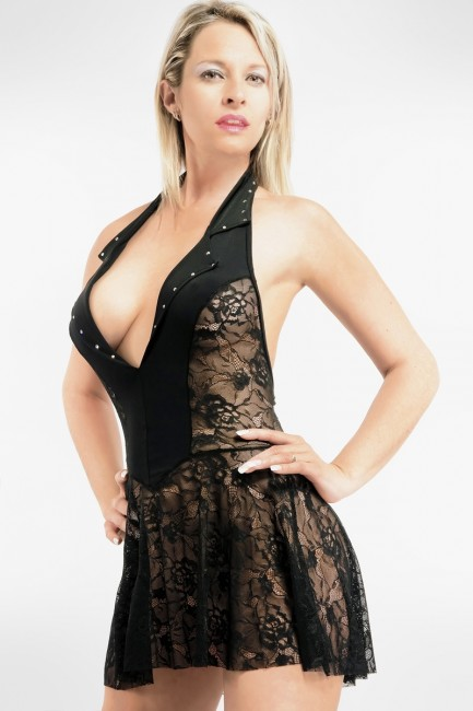 Robe transparente Mathilde