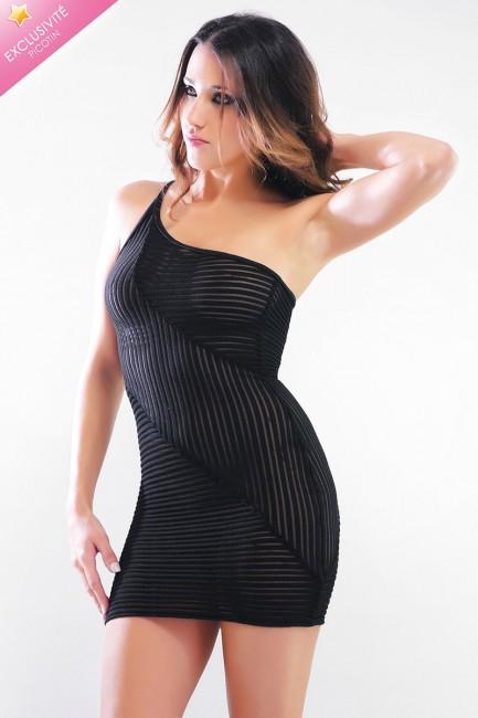 Brigitte - Robe courte sexy moulante