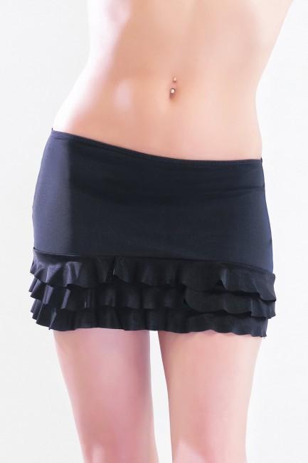 Lucie - Mini-jupe ou micro jupe avec froufou