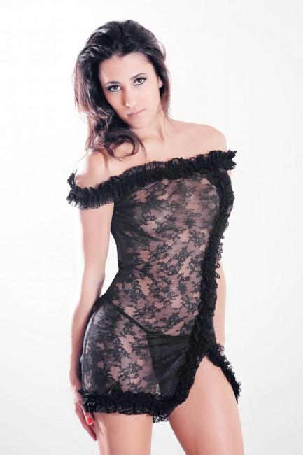 Robe sexy dentelle Audrey