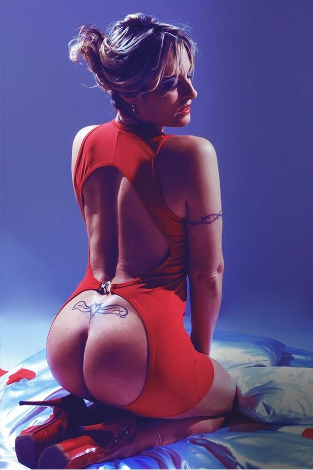 Robe sexy à fesses nu Jennifer