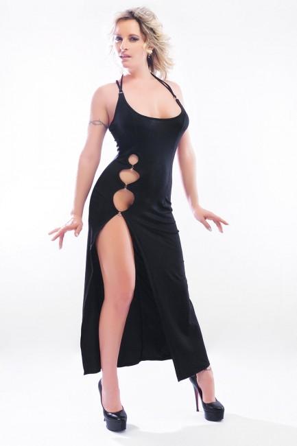 Ondine - Robe longue sexy très coquine