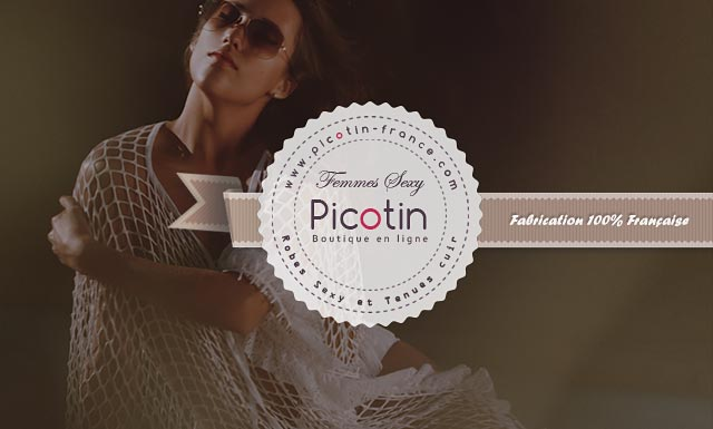 Picotin, Robe Sexy et Tenue Cuir 100% Fabrication Française